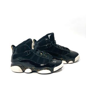Nike Jordan 6 Ring Black & Gold Size 13